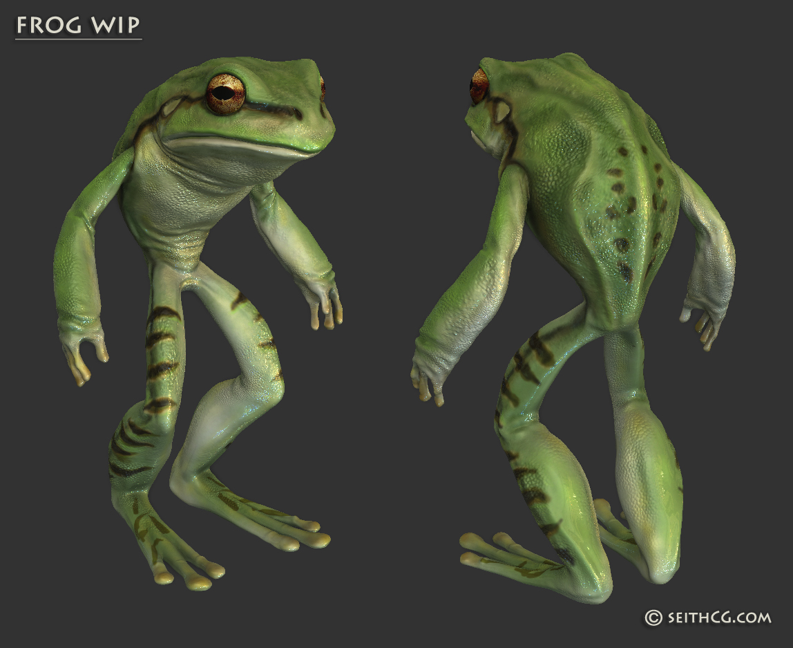 Seithcg sculpting for Frog software